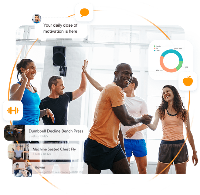 trainerize workout app for fitness clubs, gyms and studios