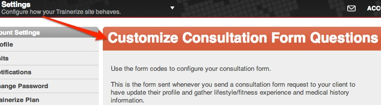 Learn More About Your Clients With Consultation Forms  Fitness