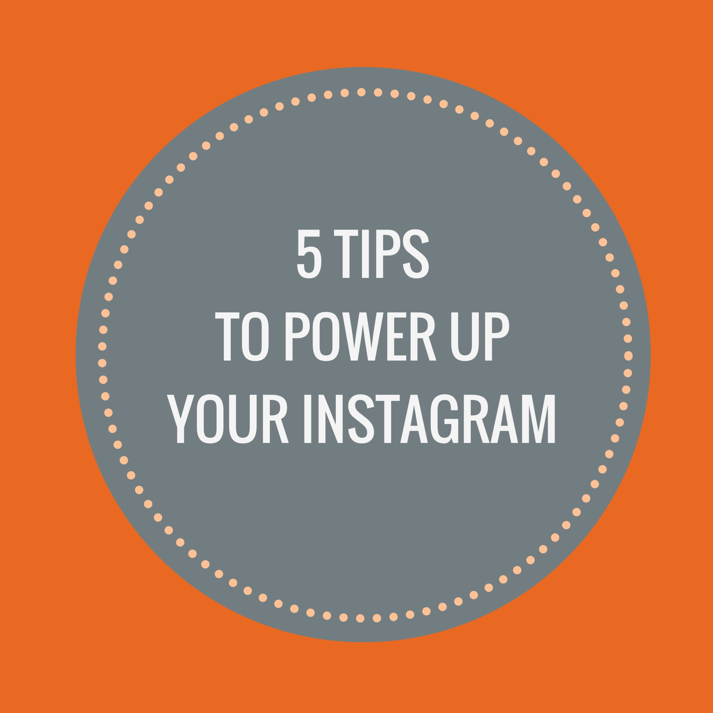 how to create a personal blog on instagram