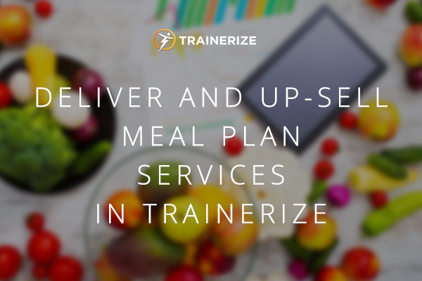 upsell meal plan services