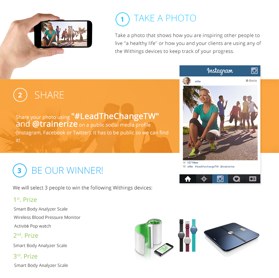 trainerize and withings contest