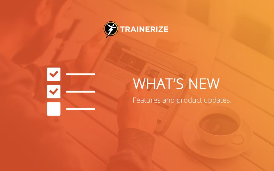 trainerize-updates