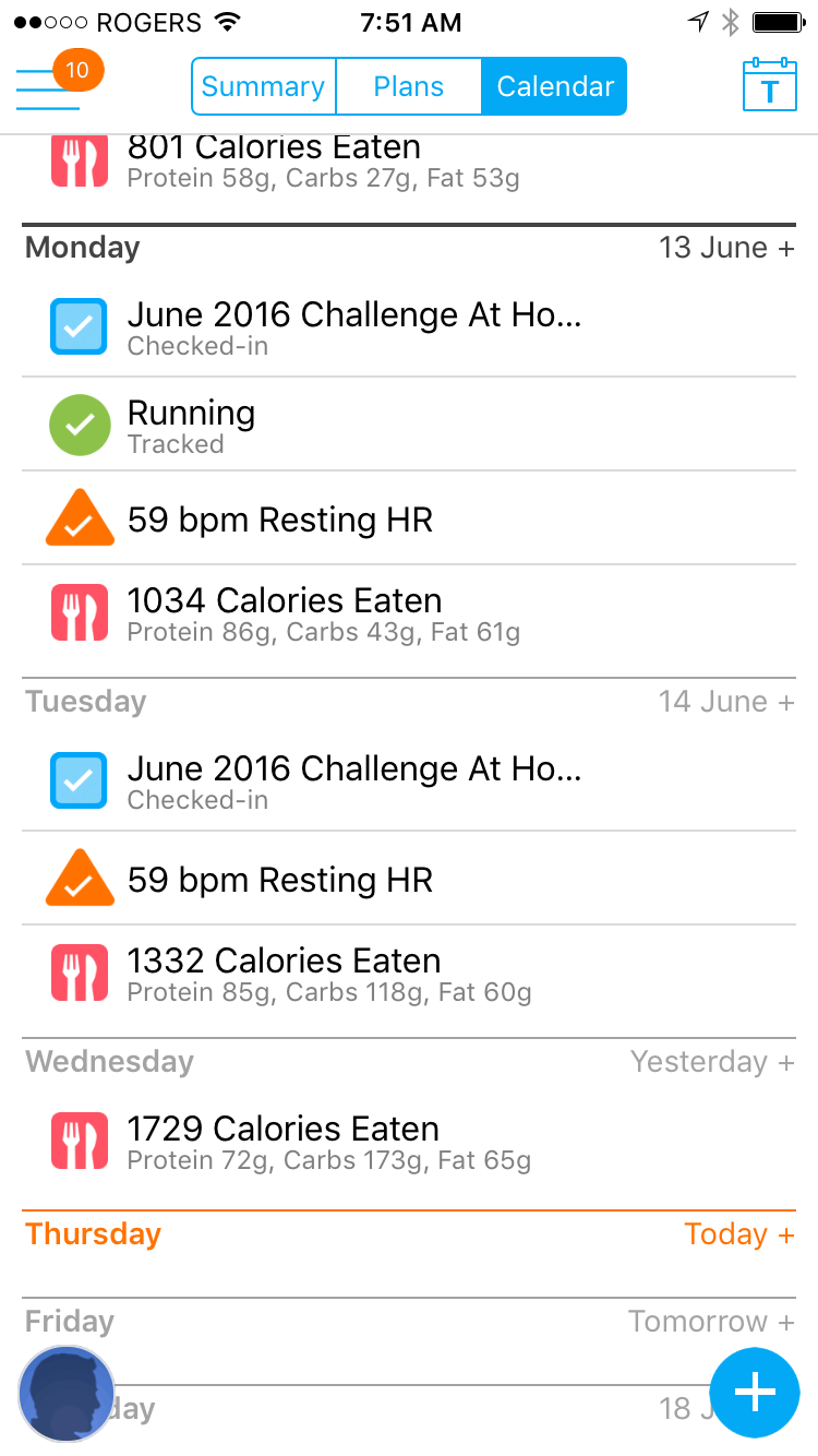 myfitnesspal-stats-in-trainerize