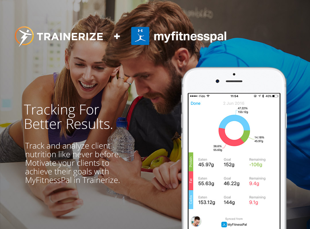 trainerize-myfitnesspal-nutrition-tracking
