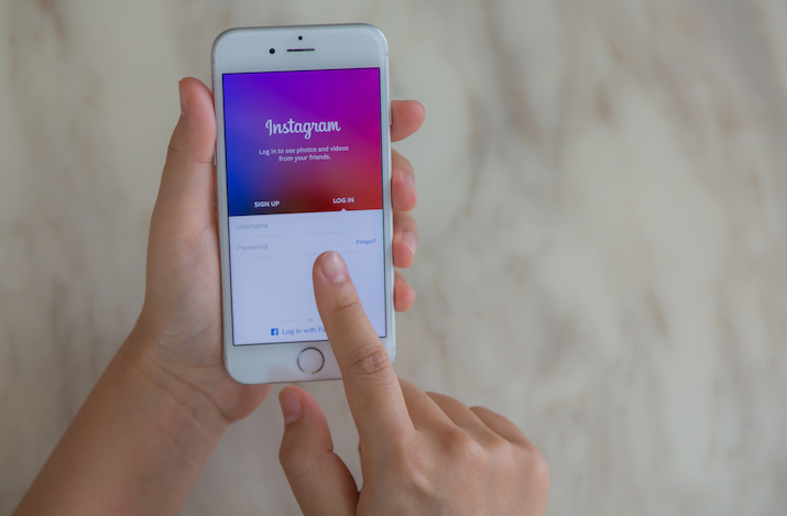 instagram stories - Promote Online Training