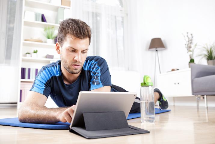 social media for fitness