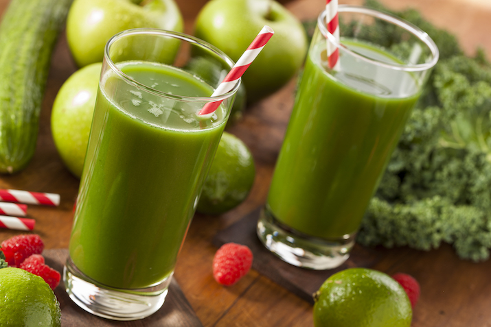 immune system boost - kale smoothie