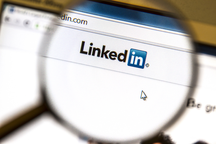 Linkedin to get more online training clients