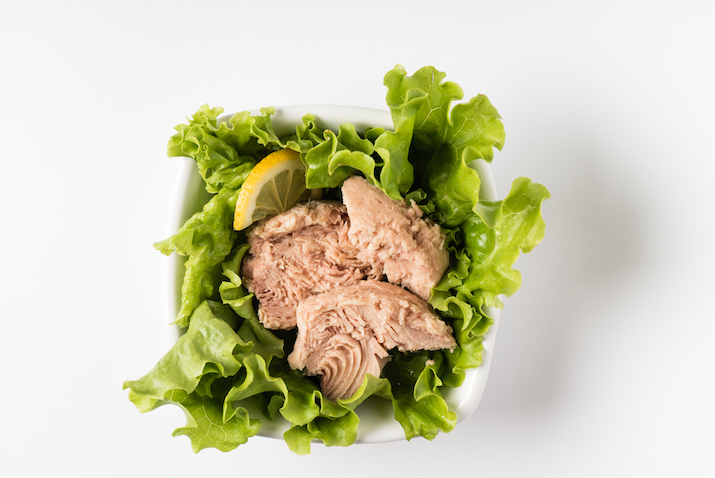 protein-packed tuna salad wraps