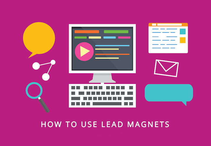 how to use lead magnets for online training