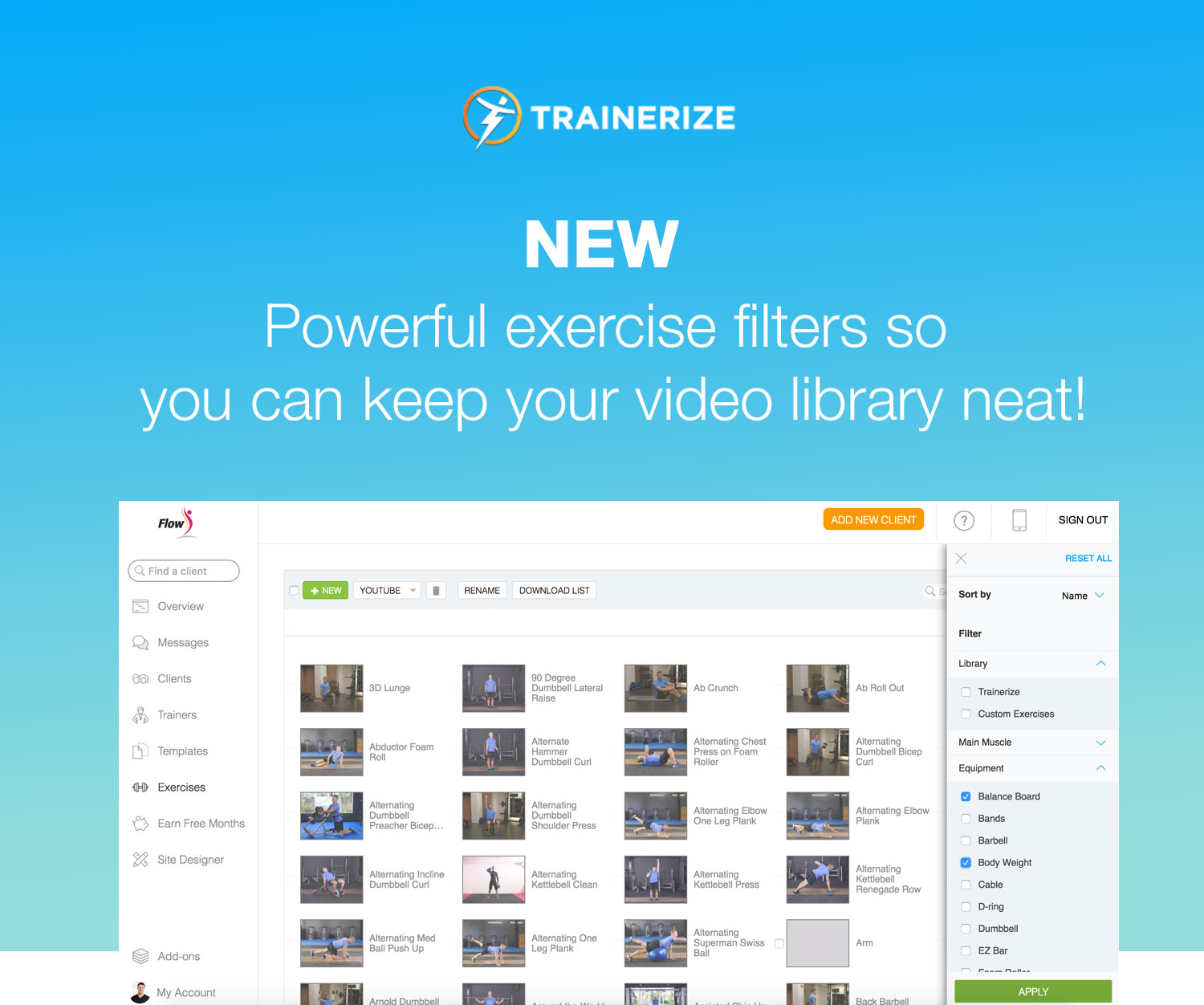 video-workouts-software