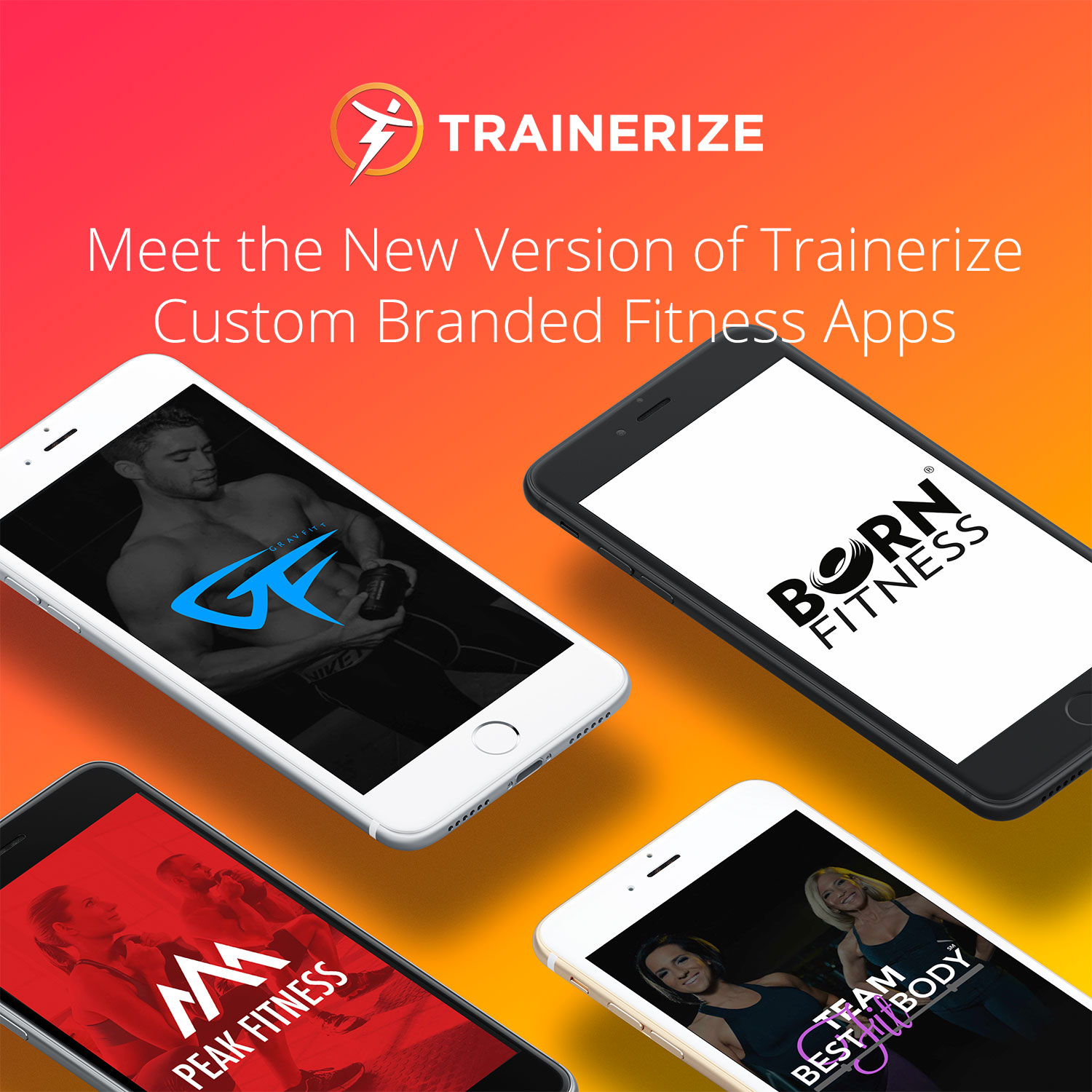 Meet the new version of Trainerize Custom Branded Fitness Apps
