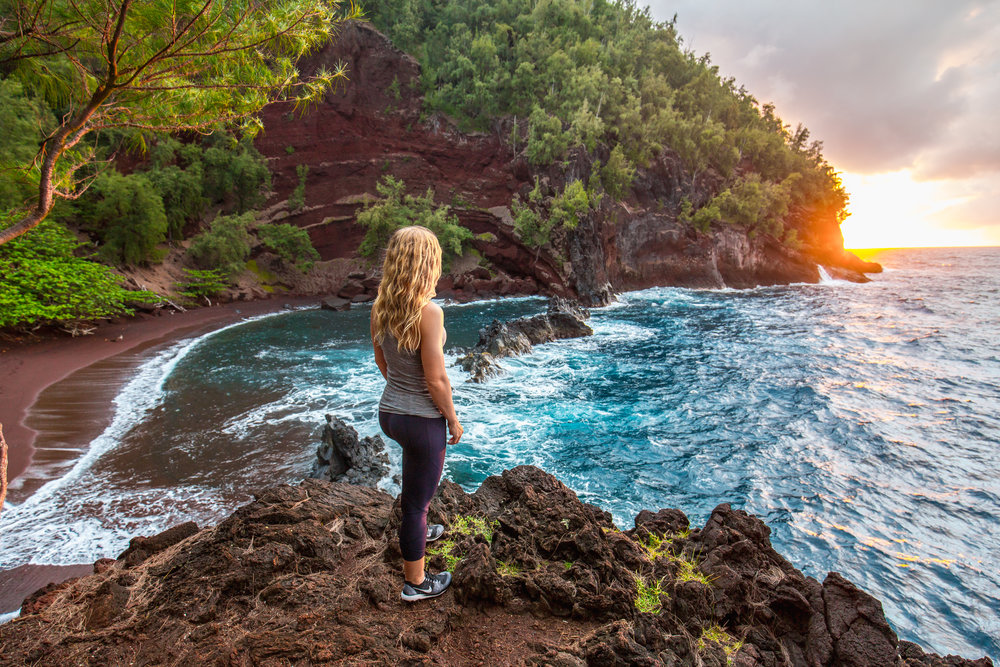 Haley Heit of Adventure Built Fitness shares how she started her fitness business in Hawaii