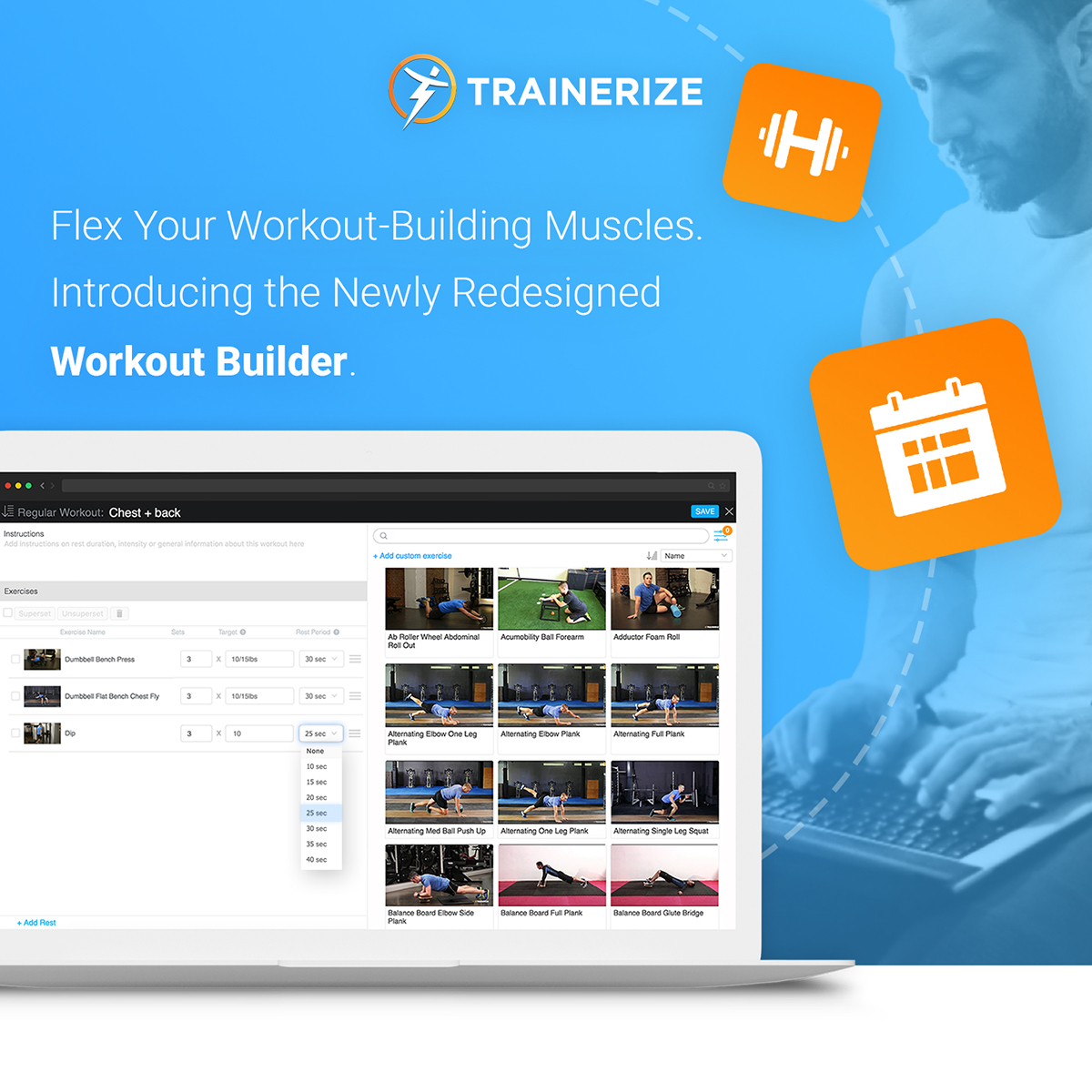 Trainerize Update: Redesigned Workout Builder