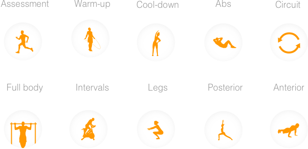 Trainerize Content Libraries Workout Types