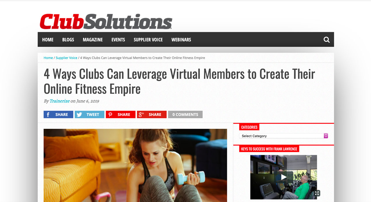 4 Ways Fitness Clubs Can Leverage Virtual Members to Create Their Online Fitness Empire