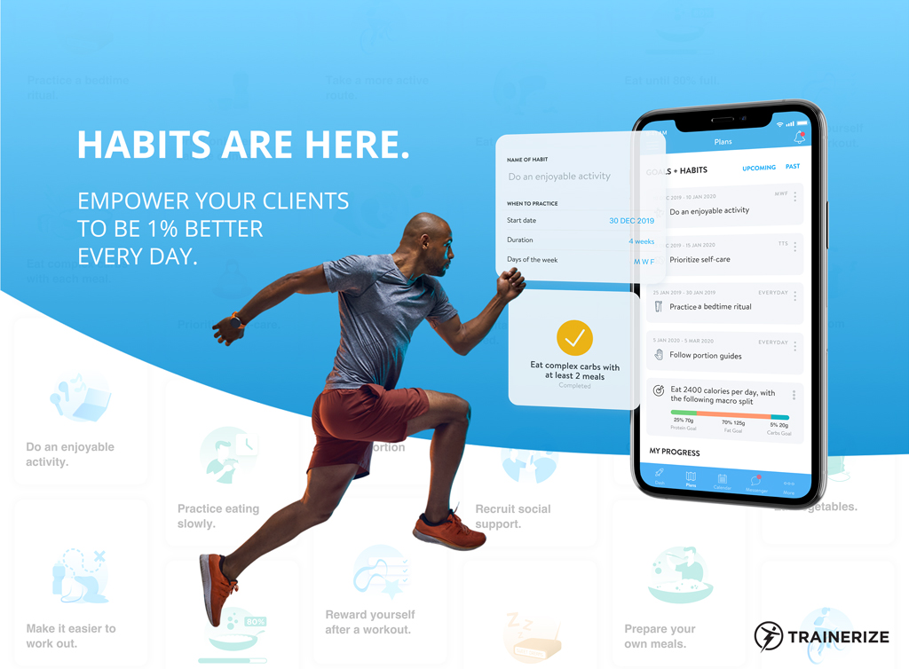 Habits are here! Add habit coaching to your fitness business today.