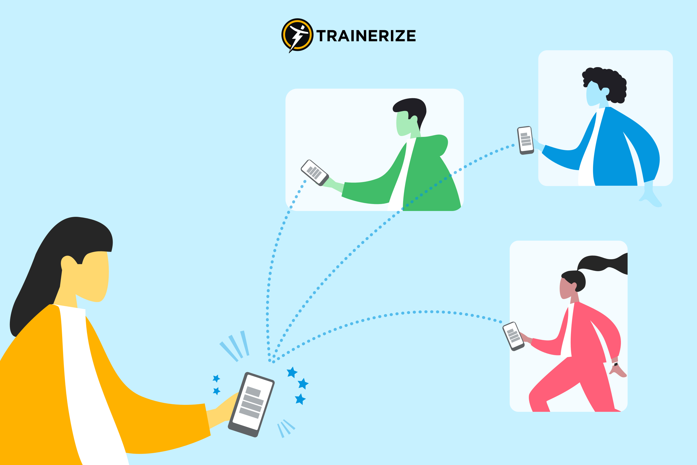 Refer Trainerize to a friend and you could get credit