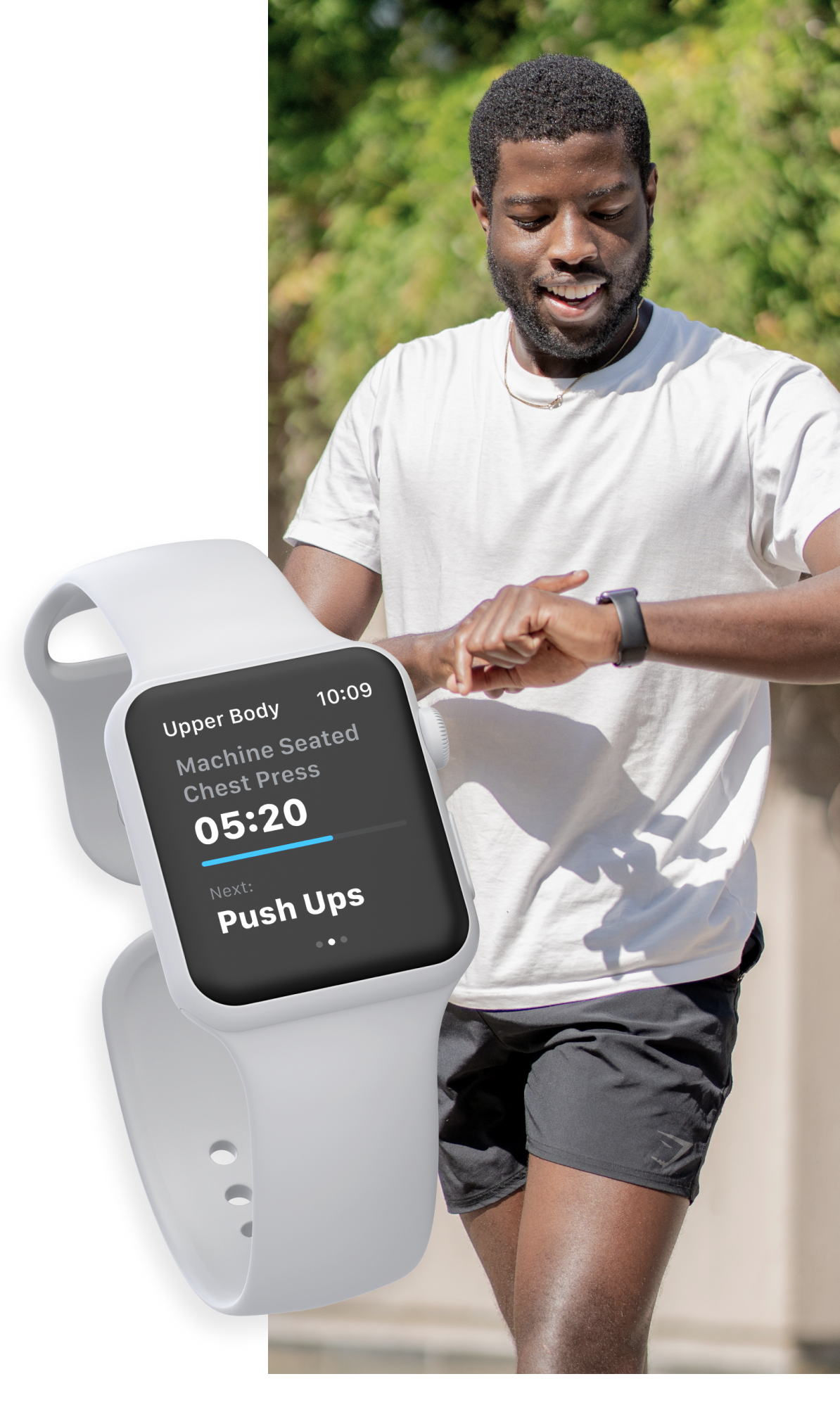 Clients can start workouts and cardio sessions with the new Apple Watch App powered by Trainerize
