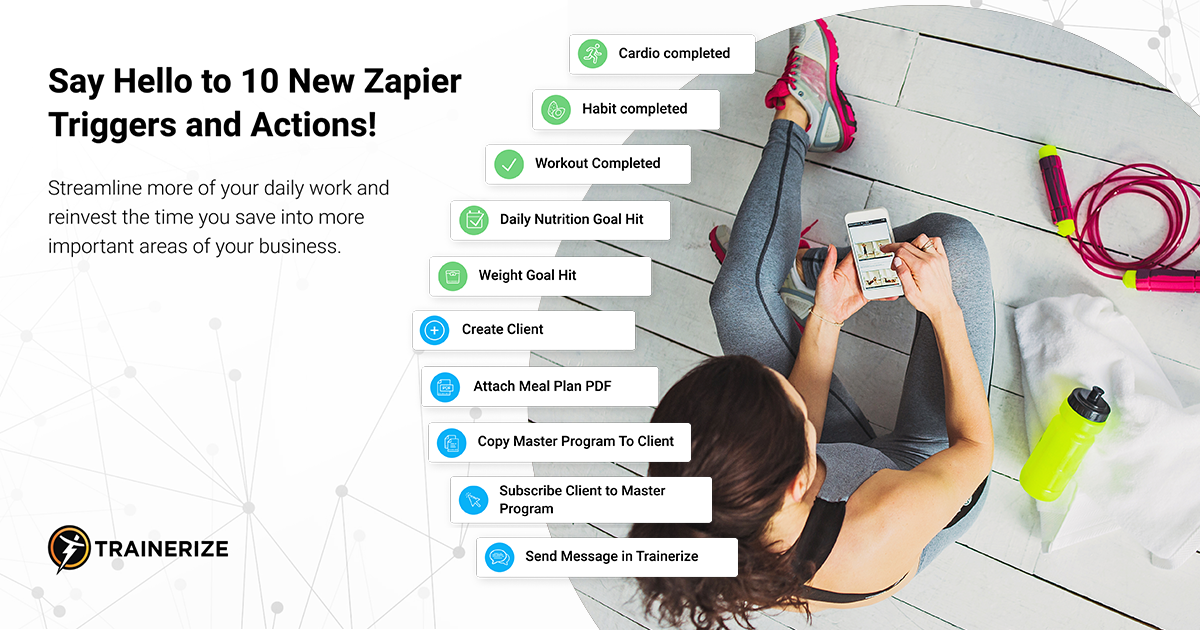 New Zapier Triggers and Actions
