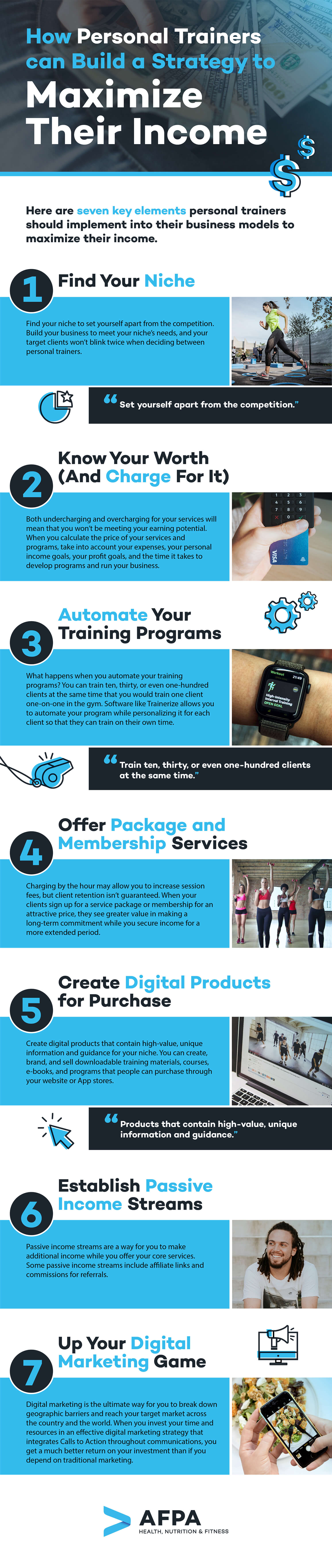 Strategy to Maximize Personal Training Income
