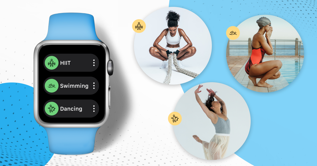 Apple Watch App powered by Trainerize - New Cardio Activities
