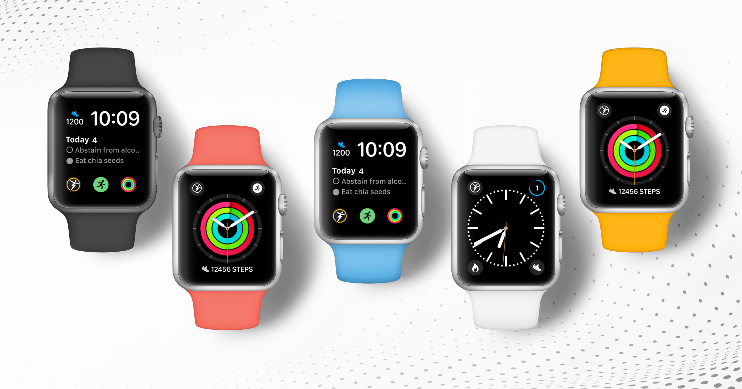 Apple Watch App powered by Trainerize - Complications and Preset Watch Faces