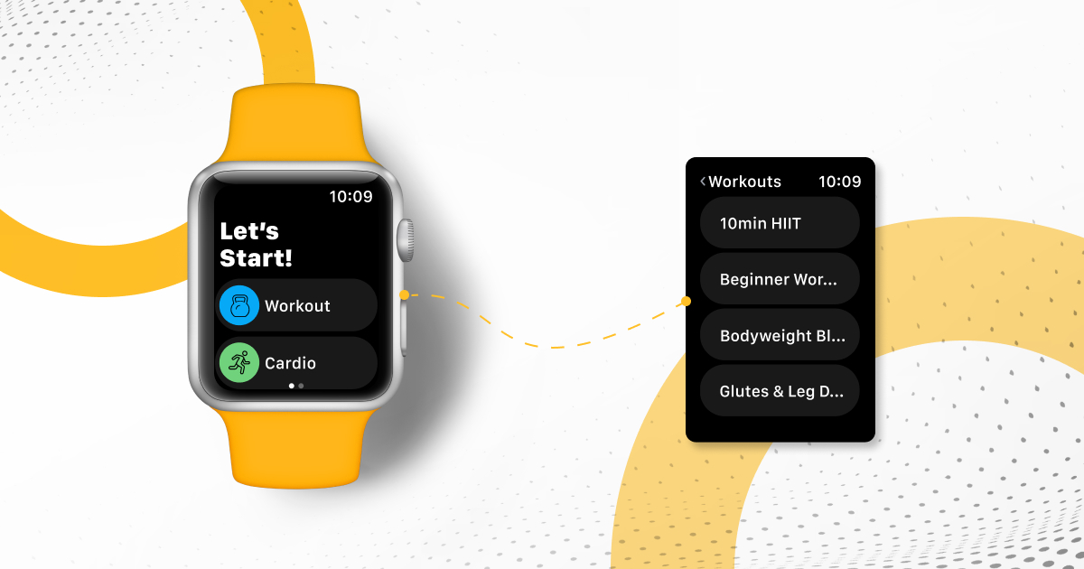 Apple Watch App powered by Trainerize - Scheduling and Starting their own workouts