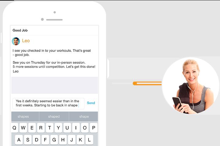 Trainerize Features Message Clients